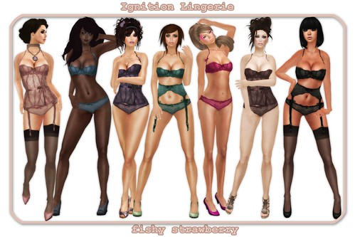 ignition lingerie all colors