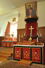 Side Altar of St. Mary's Indian Orthodox Church