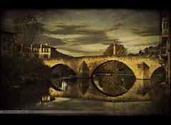 Valderrobres' Bridge (by Manuel Gual)