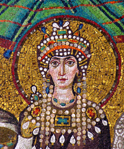 The Empress Theodora (corrected perspective)
