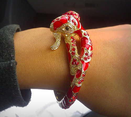 Snake bracelet! (Now my life is complete)