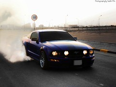 Mustang burnout (Talal Al-Mtn) Tags: road street blue red horse ford canon way hp automobile cobra power shot gear rr automotive rover turbo automatic kuwait manual mustang rrr gt fordmustang 2009 v8 talal kuwaitcity supercharger 2010 supercharged xsi saleen q8 hst stang gt500 rrs kwt youtube fordmustanggt stateofkuwait 450d burout canon450d  lm10 inkuwait fordmustang2007 almtn talalalmtn  bytalalalmtn photographybytalalalmtn mustangburout   shilbey  mustangburnout