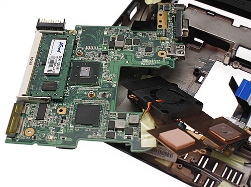ASUS Eee PC 1005PE, Dissection