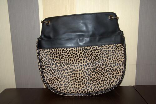 Леопардовые сумки.