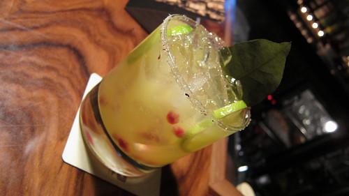 Donaji Cocktail - mezcal, citrus, agave nectar, chapulin salt