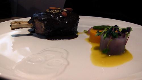 Mole - kurobuta pork chop, mole, sweet potato
