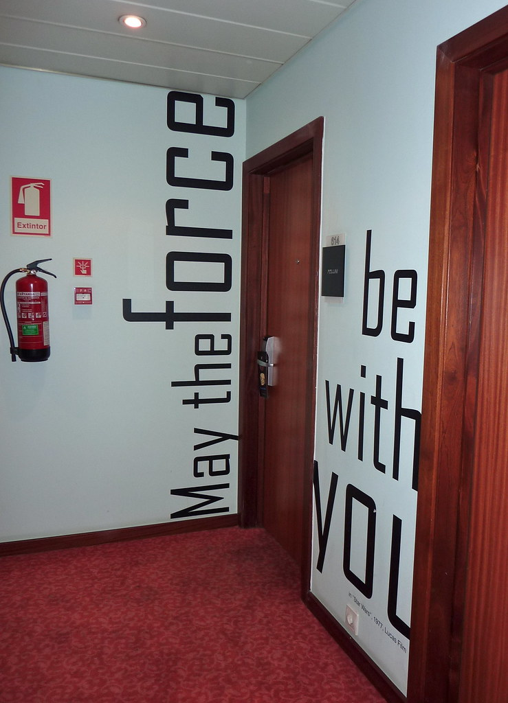 Hotel Florida. Lisbon. May the force be with you.