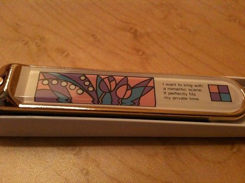 Poetic Nail Clippers
