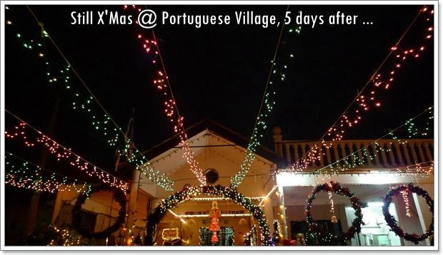 XMas @ Portuguese Settlement, Melaka