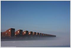 Han Diekmannkade (Dit is Suzanne) Tags: 03012010 nederland netherlands нидерланды гронинген groningen ©ditissuzanne canoneos40d tamron28200mm13856 img7842 winter зима снег sneeuw snow mist fog туман handiekmannkade views1900
