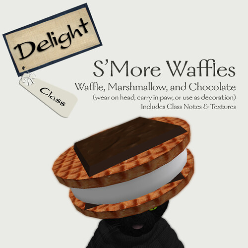 S'More Waffles Please!