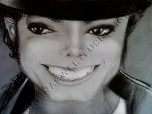 Michael Jackson Drawing by meee sabina