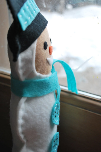 snowman longing for the snow...