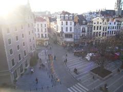 228 - Brussels - Best Western Premier Carrefour d' Europe Hotel  - view from room 510 (LeamDavid) Tags: brussels belgium bruge