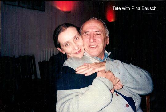 Tete Rusconi y Pina Bausch
