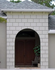 Cut Block Stucco