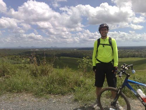 Me, My Bike, and the Glass House Mountains