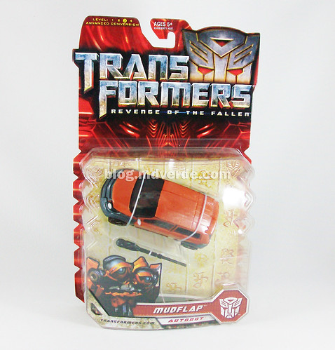 Transformers Mudflap RotF Deluxe - caja
