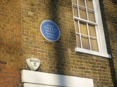 Photo of John Tweed blue plaque