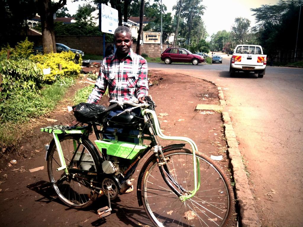 Motorized Bicycle in Nairobi