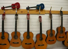 instruments in our music class
