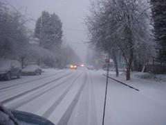 Snow just prior to Xmas 09