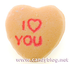 Necco Sweethearts - I Heart You