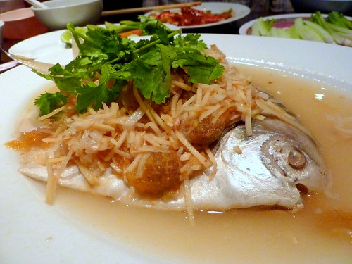 Teochew Steam Pomfret
