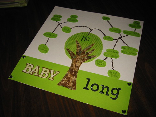 Tree of Life Scrapbook Page