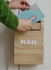 toy door knob mailbox