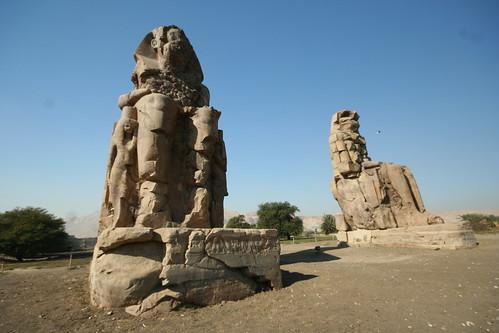 Mnemnon statue,egypt
