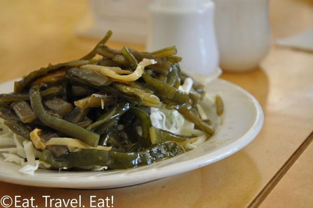 Marinated Seaweed