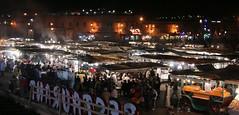 The Djemaa el Fna really is something else (AdamAxon) Tags: morocco marrakech stalls djemaaelfna