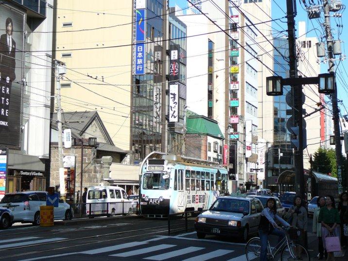 Sapporo street car