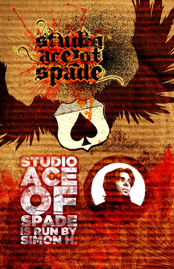 Studio Ace of Spade - Poster - January 2010 - 11x17 inches
