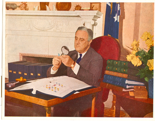 FDR, Stamp Collector