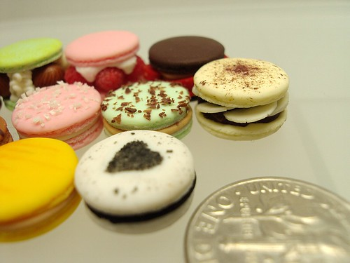 macarons altogether