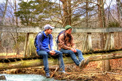 DPP_0132 (csthomasXSi) Tags: bridge winter mountain river virginia woods stream tinkercliffs