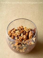 Crema ricotta e cacao al Brandy