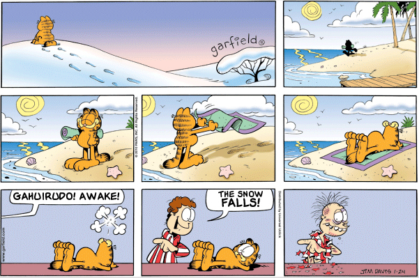 Garfield: Lost in Translation, January 24, 2010