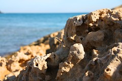 Rocks eroded by the beach. Calblanque (Lifel-Mod) Tags: espaa canon eos spain best murcia 450 cartagena calblanque lifel 7idu5