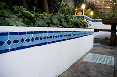 The Moroccan Courtyard Garden by Earth Designs. www.earthdesigns.co.uk. London Garden Design and landscape build. (Earth Designs - Garden Design and Build) Tags: lighting uk flowers england london gardens modern garden flora gardening d