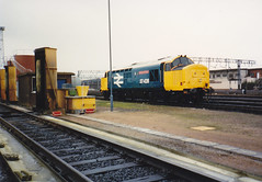 37428 Crewe (barry 13092) Tags: crewe davidlloydgeorge class37 37281 37428 d6981