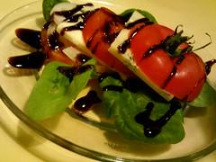 Tomato Bleu Cheese Stack