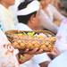 Balinese Hindu Ceremony at Tanah Lot