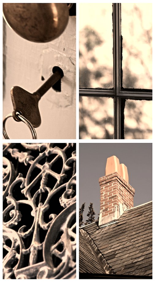 Old house collage