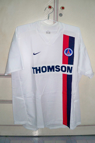 Paris St. Germain 2002-2003 Away S/S