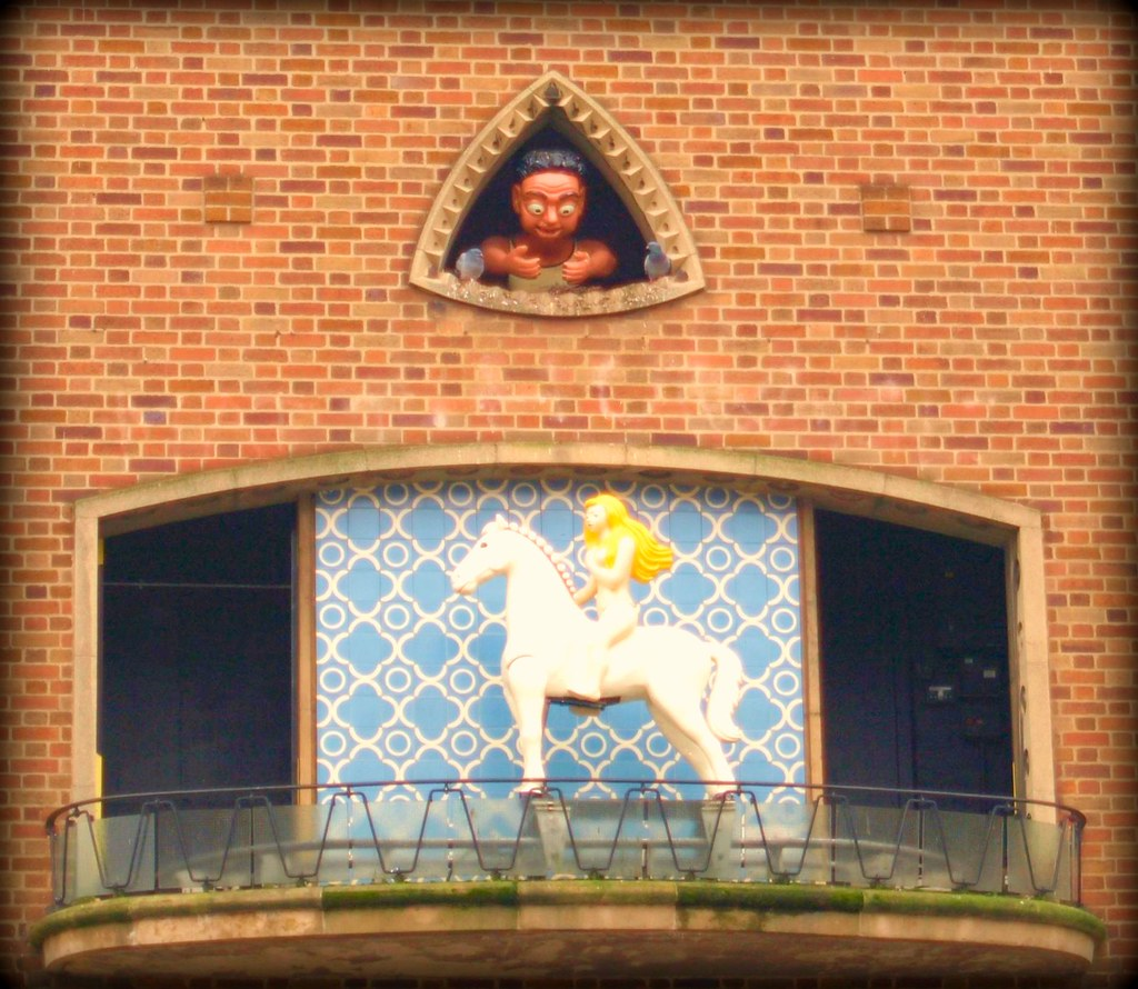 Lady Godiva & Peeping Tom in Coventry