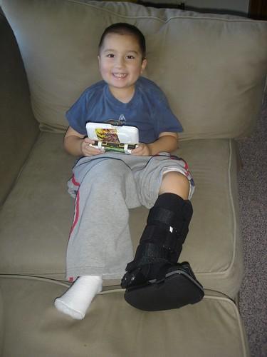 Mason recovering