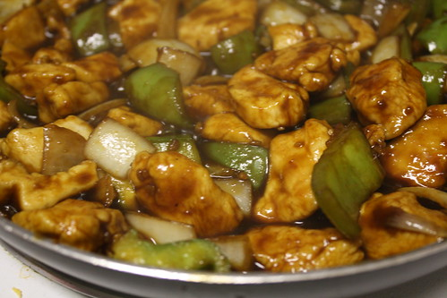 Sweet, Spicy & Sticky Chicken